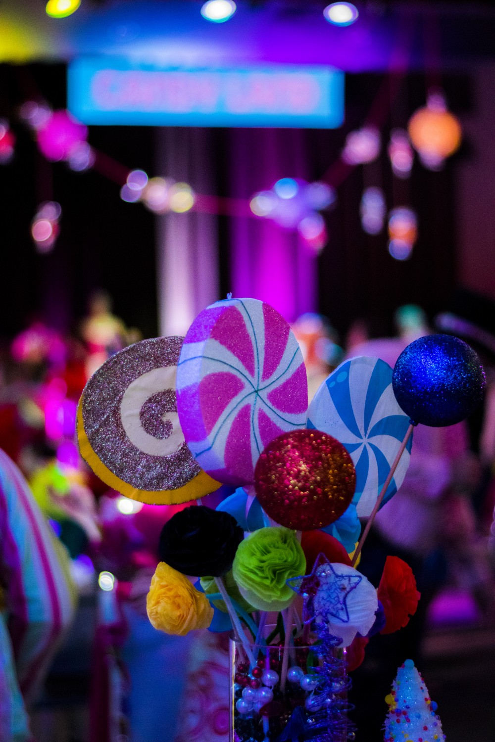Candyland Ball bouquet